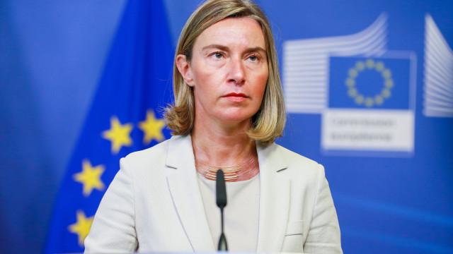 """União Europeia saúda """"passo crucial e necessário"""" e vitória da diplomacia"""