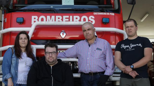 Bombeiros de Castanheira de Pera feridos querem voltar ao ativo