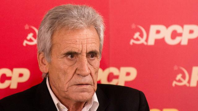 """PCP diz que Presidente da República fez """"discurso de circunstância"""""""