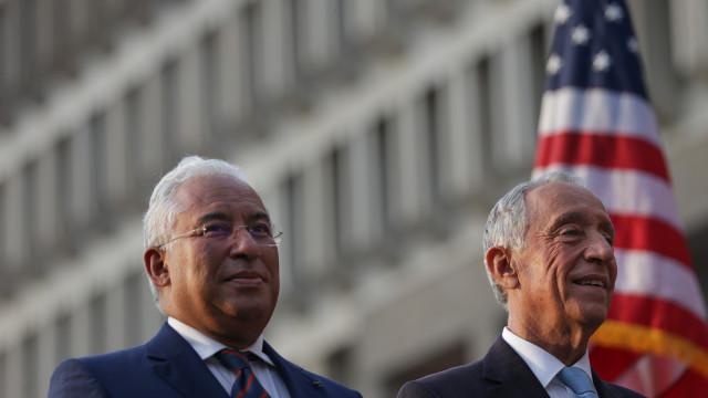 """Costa salienta """"amor"""" comum dos EUA e de Portugal pela democracia"""