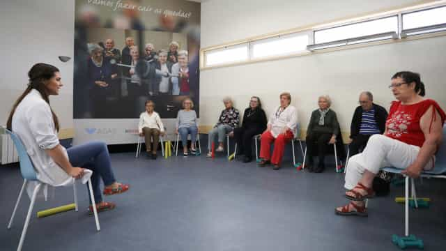 Associação do Porto lança projeto para ensinar idosos a evitar as quedas