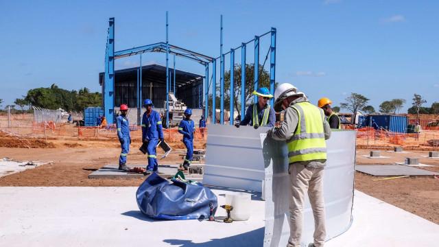 Plataforma de exploração de gás em Moçambique arranca em setembro