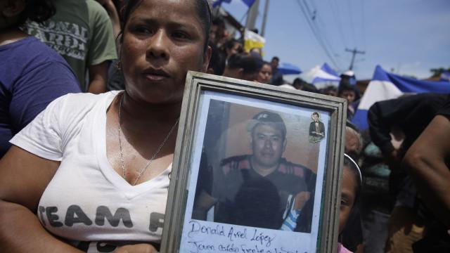 Sobe para 212 o número de mortos em manifestações na Nicarágua