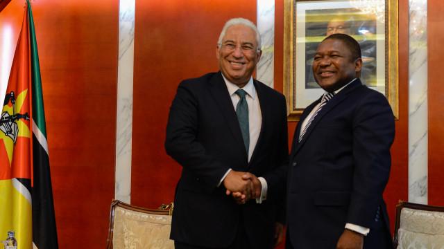 """Costa garante vontade política para manter """"relação única"""" com Moçambique"""