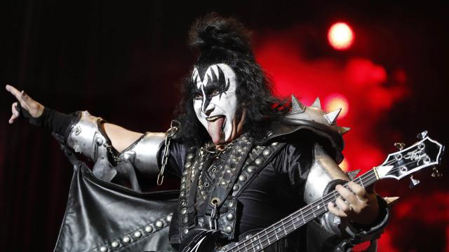 Kiss atuam hoje em Oeiras 35 anos após o primeiro concerto em Portugal