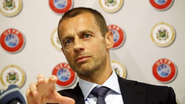 """Presidente da UEFA diz que Europa """"pode olhar com orgulho"""""""