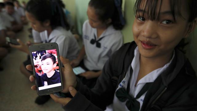 """Jovens tailandeses perderam peso, mas """"estão bem de saúde"""""""
