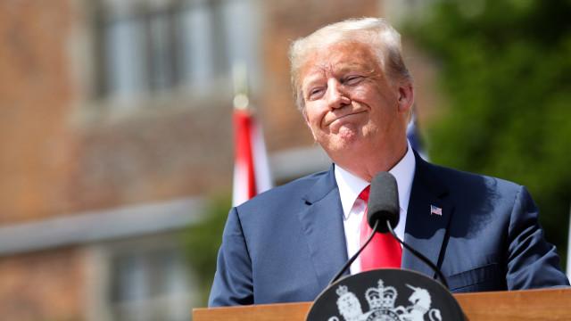 Trump diz que União Europeia, China e Rússia são inimigos dos EUA