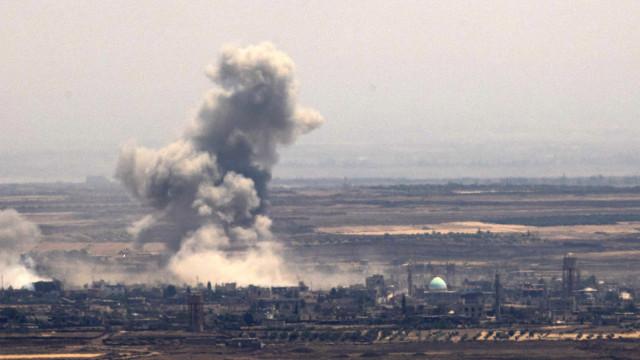 Rebeldes no sul da Síria chegam a acordo de rendição com a Rússia