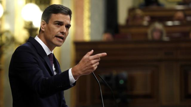 Sánchez eleva em meio ponto percentual o objetivo de défice orçamental