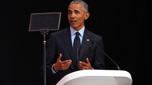 """Obama apela ao voto para se """"recuperar uma certa sanidade"""" nos EUA"""