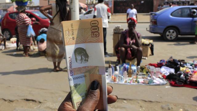 Moeda angolana em novo mínimo histórico face ao euro