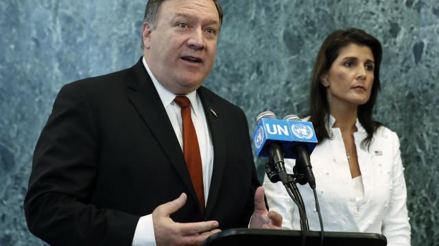 """EUA exige """"sanções"""" contra Coreia do Norte até à desnuclearização"""