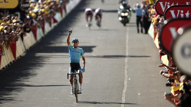Omar Fraile estreia-se a vencer na 14.ª etapa do Tour