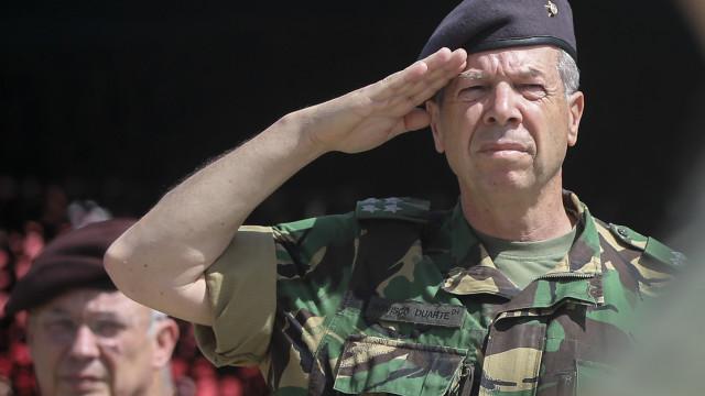 """Tancos: Chefe do Estado-Maior do Exército afirma-se """"tranquilo e sereno"""""""