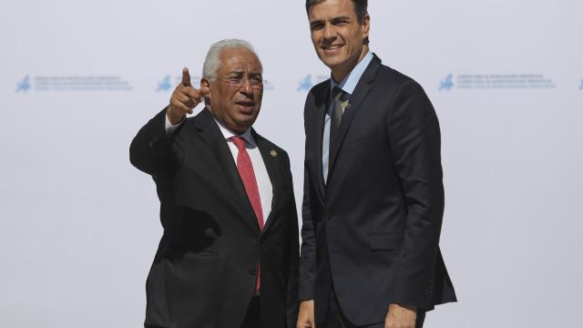 Costa e Sánchez discutem desenvolvimento das regiões de fronteira
