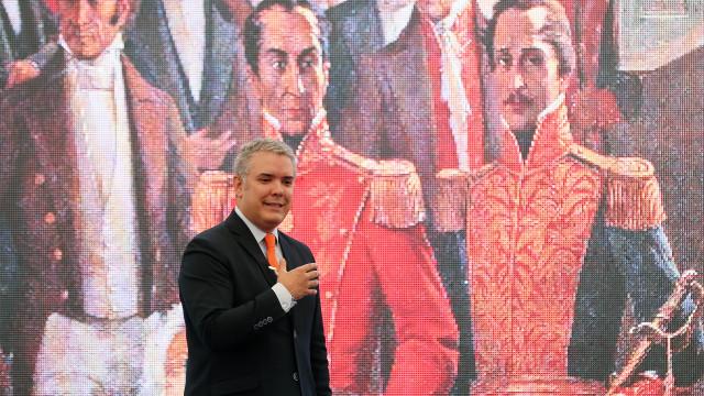 Pacto para desenvolvimento da Colômbia é o objetivo do novo presidente