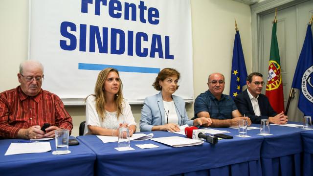 Frente Sindical quer atualização de 3% dos salários e das pensões em 2019