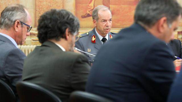 """Sem novidades, general não sabia que estava """"ali a fazer"""" em comissão"""