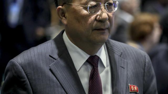"Pyongyang critica ""impaciência"" dos Estados Unidos"