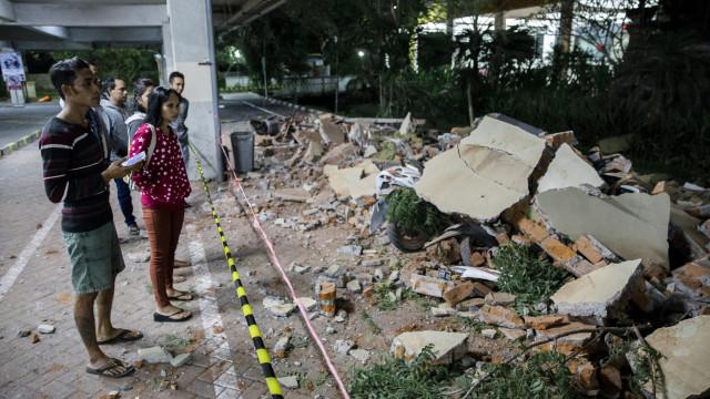 Sobe para 37 o número de mortos do sismo na ilha indonésia de Lombok