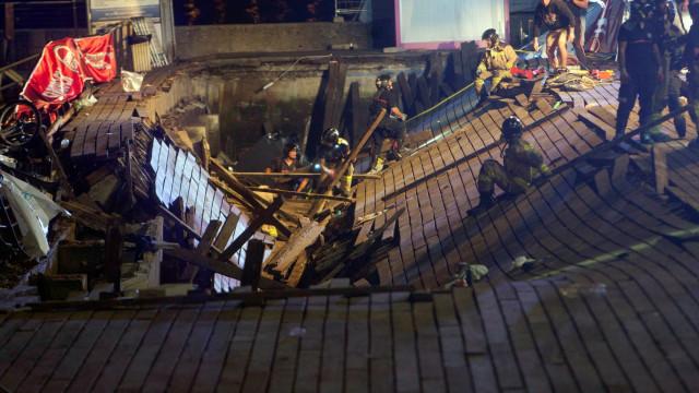 Mais de 300 feridos em queda de plataforma em festival de música em Vigo