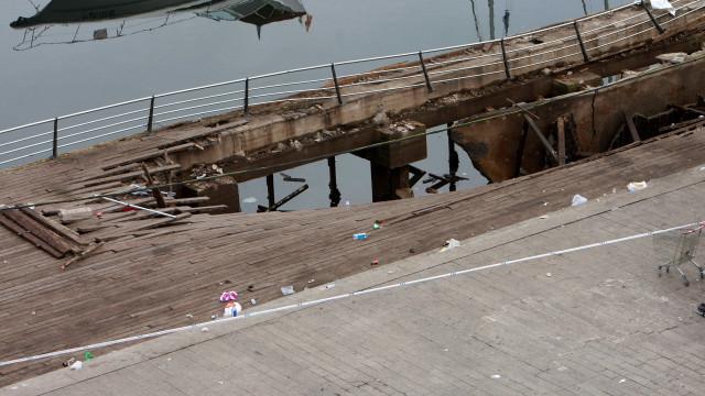 Queda de plataforma num festival em Vigo teve origem em falha estrutural