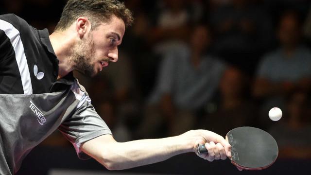 Marcos Freitas cai nos quartos de final do Europeu de ténis de mesa