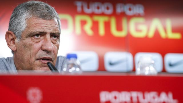 Fernando Santos revela escolhas para jogos com Polónia e Escócia