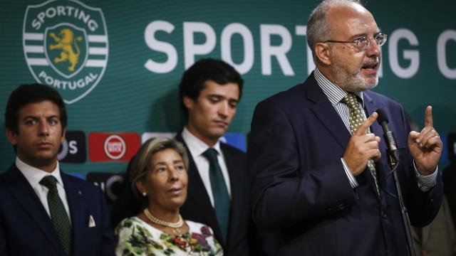 """Rogério Alves admite """"tensão"""" e """"feridas fundas"""" no Sporting"""