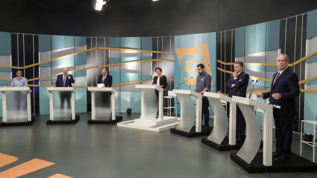Corrupção e violência no debate de candidatos à presidência do Brasil