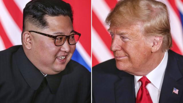 Trump envia mensagem de louvor a líder norte-coreano através de Seul