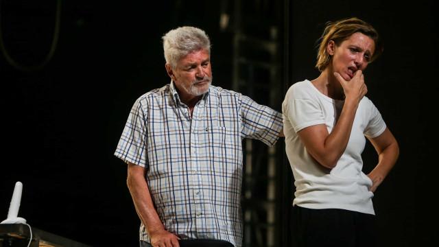 Pascal Rambert  escreveu para atores portugueses na peça 'Teatro'