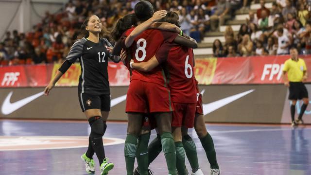 Portugal fecha apuramento para o Europeu de futsal com goleada