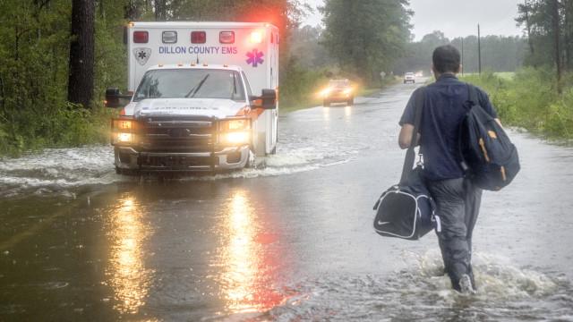 Número de mortos devido à tempestade Florence sobe para 16