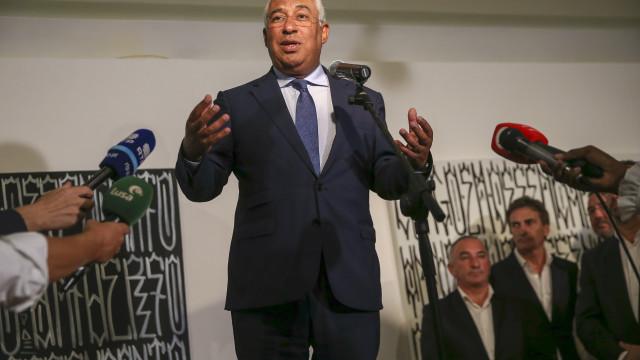 """Costa elogia """"transparência"""" e plano de Luanda para regularizar dívidas"""