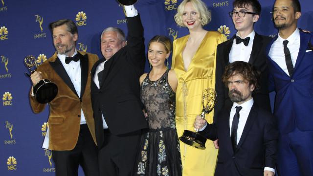 'A Guerra dos Tronos' e 'Mrs. Maisel' entre grandes vencedores dos Emmy