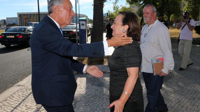 """Marcelo agradece a PGR mas lembra: """"Instituições ficam, pessoas passam"""""""