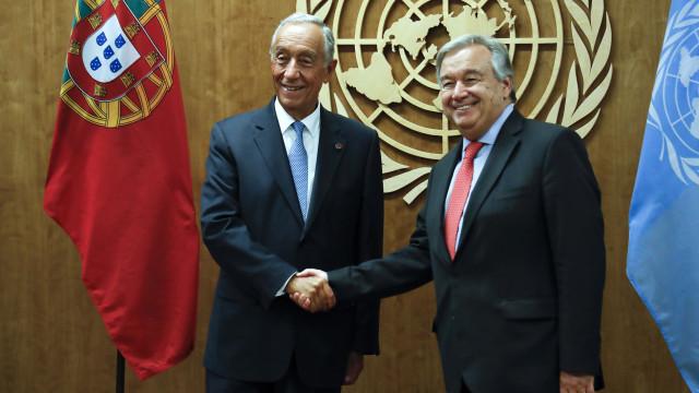 Marcelo participa hoje na Assembleia Geral da ONU