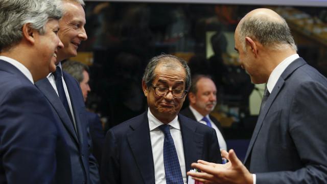 Eurogrupo discute 'chumbo' de orçamento italiano
