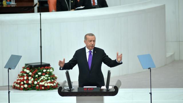 Erdogan: Turquia só sai da Síria depois de se fazerem eleições