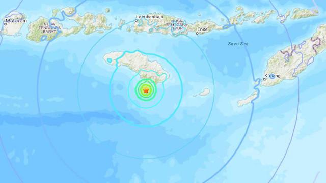 Dois sismos registados no sul da indonésia