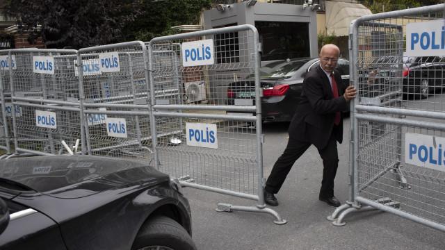 Polícia turca admite que jornalista foi morto no consulado saudita