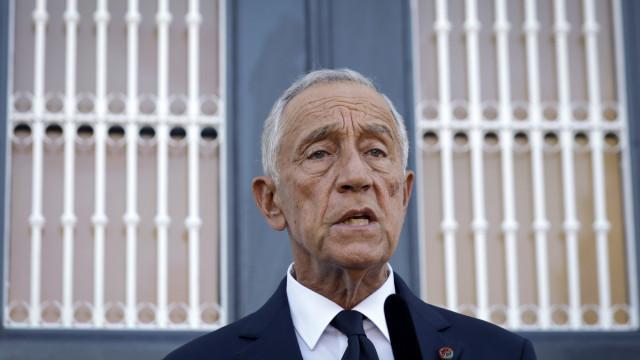 Presidente da República acompanha fogo na serra de Sintra
