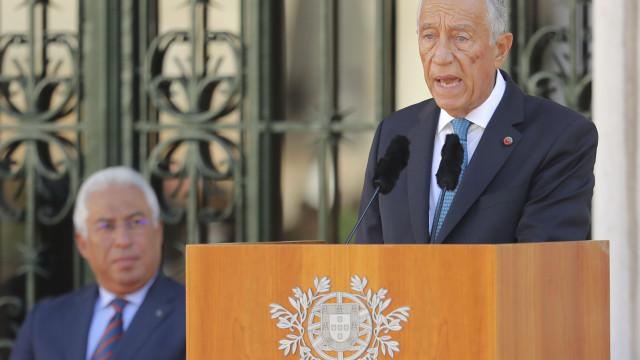 Marcelo pede inovação no sistema político contra tentações radicais