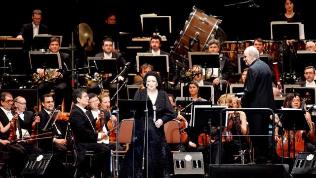 """Monserrat Caballé foi """"um dos pináculos do canto lírico do século XX"""""""