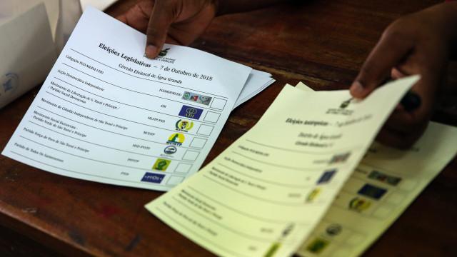 São Tomé: Urnas com afluência inédita