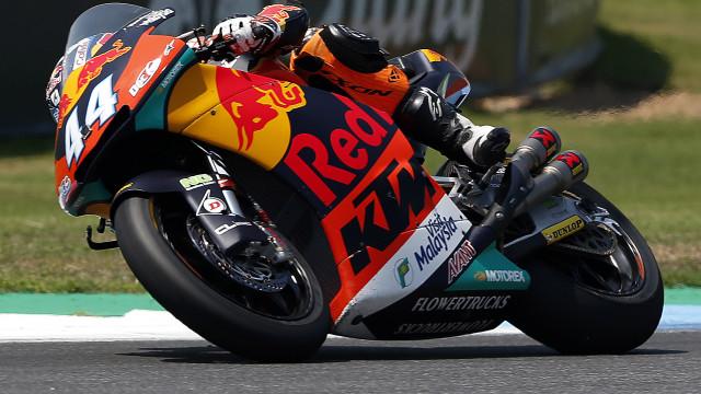 Miguel Oliveira acaba GP do Japão em quarto. Título de Moto2 mais longe