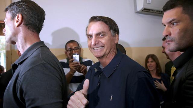 Bolsonaro recolheu 57,6% dos votos no Porto