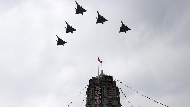 Taiwan inicou hoje exercícios militares que simulam ataque da China